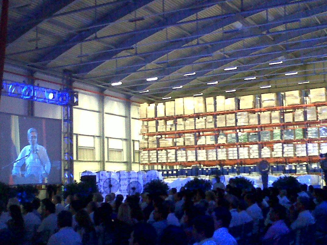 Inauguración nuevo Centro de Distribución Logística de Contecar