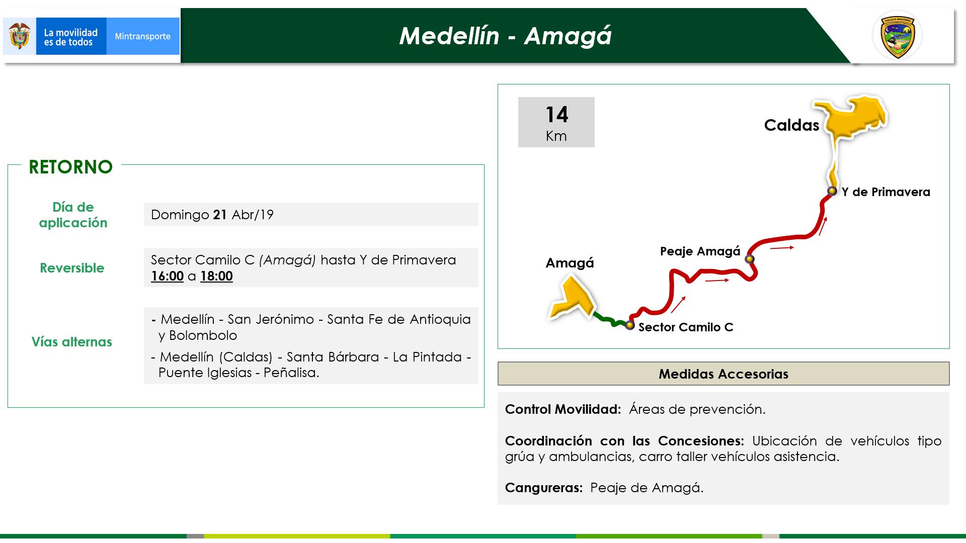 Medellín - Amagá