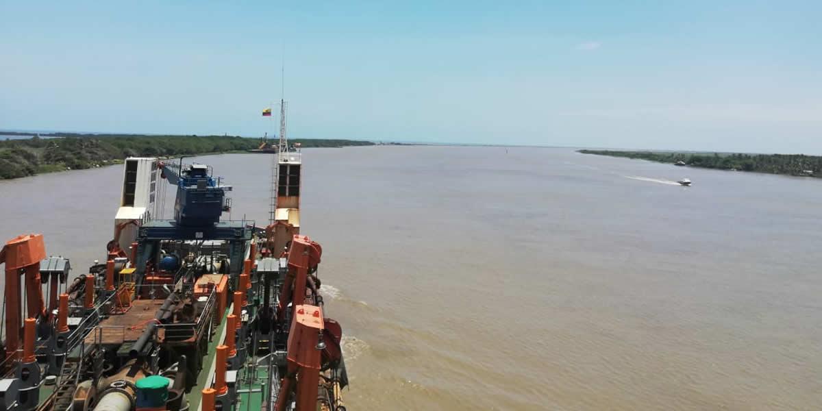 2Finaliza con éxito actividad de dragado en canal de acceso al puerto de Barranquilla