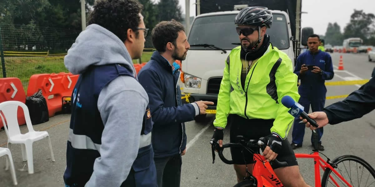 ANSV advierte a conductores y ciclistas sobre riesgos de siniestralidad en el puente festivo