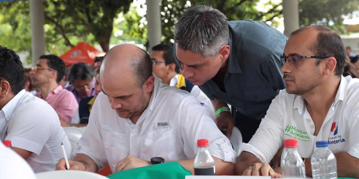 Gobierno Nacional contratará obras para el mejoramiento de la vía Santa Lucía – Moñitos, en Córdoba