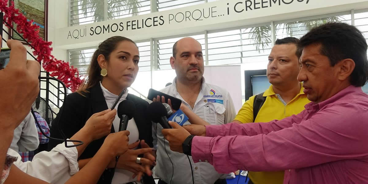 2Recuperación de la navegabilidad del río Magdalena, prioridad del Gobierno Nacional
