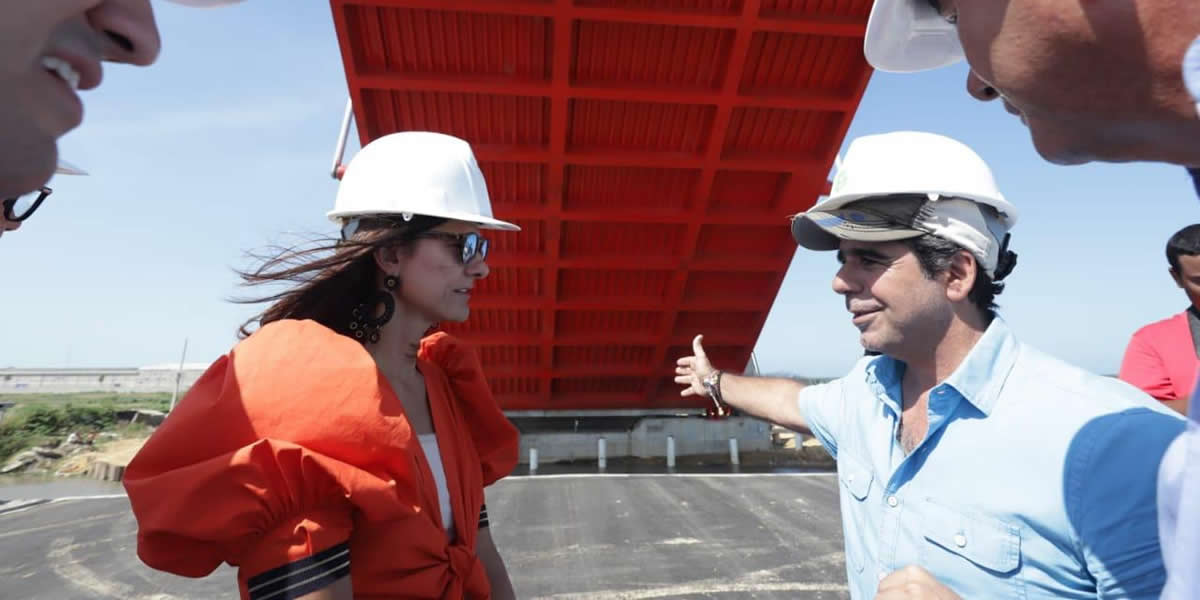 2Las obras del Gran Malecón del Río en Barranquilla entran en su recta final