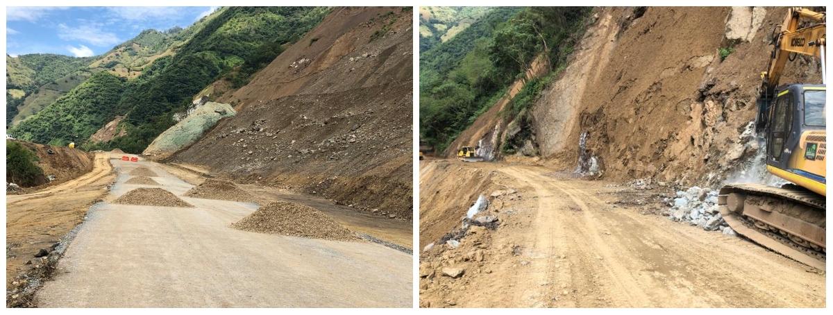 Antes de finalizar el 2019, se restablecerá el tránsito por la vía Bolombolo-Amagá en el sector Sinifaná